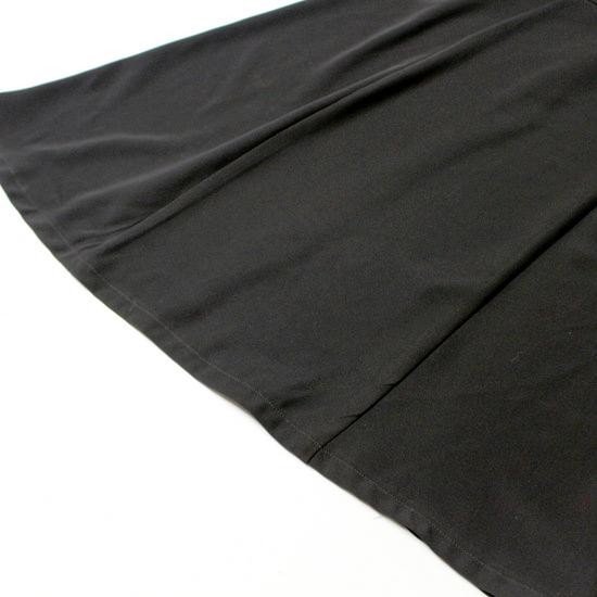 美品 セオリー PLST プラステ 柔らか ストレッチ スーツ生地 綺麗め ワンピース S 20D06_画像3