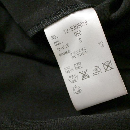 美品 セオリー PLST プラステ 柔らか ストレッチ スーツ生地 綺麗め ワンピース S 20D06_画像4