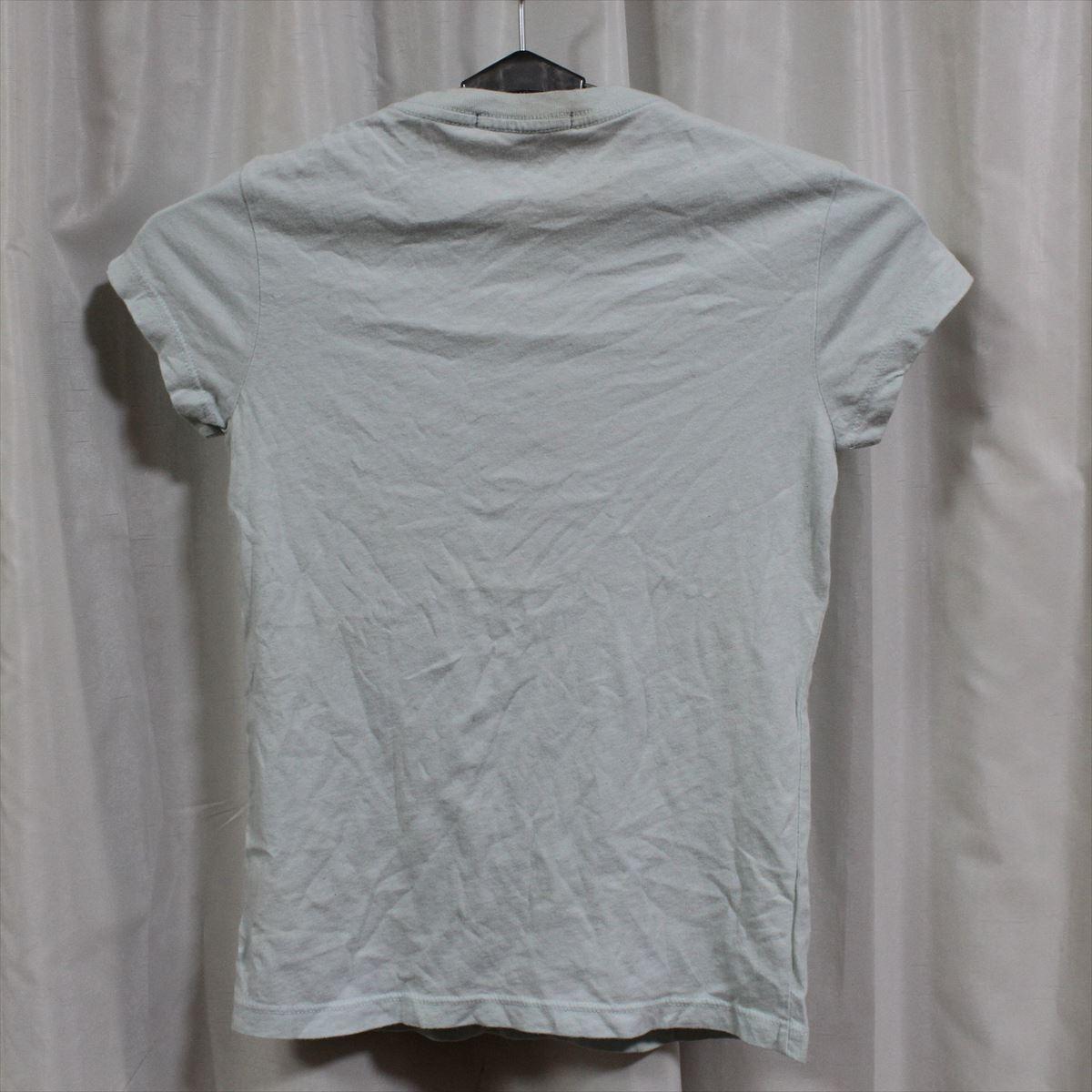 パメラアンダーソン Pamera Anderson レディース半袖Tシャツ ライトブルー Sサイズ アウトレット_画像3