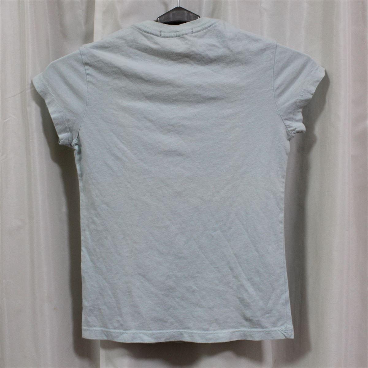 パメラアンダーソン Pamera Anderson レディース半袖Tシャツ ライトブルー Sサイズ アウトレット 新品_画像3