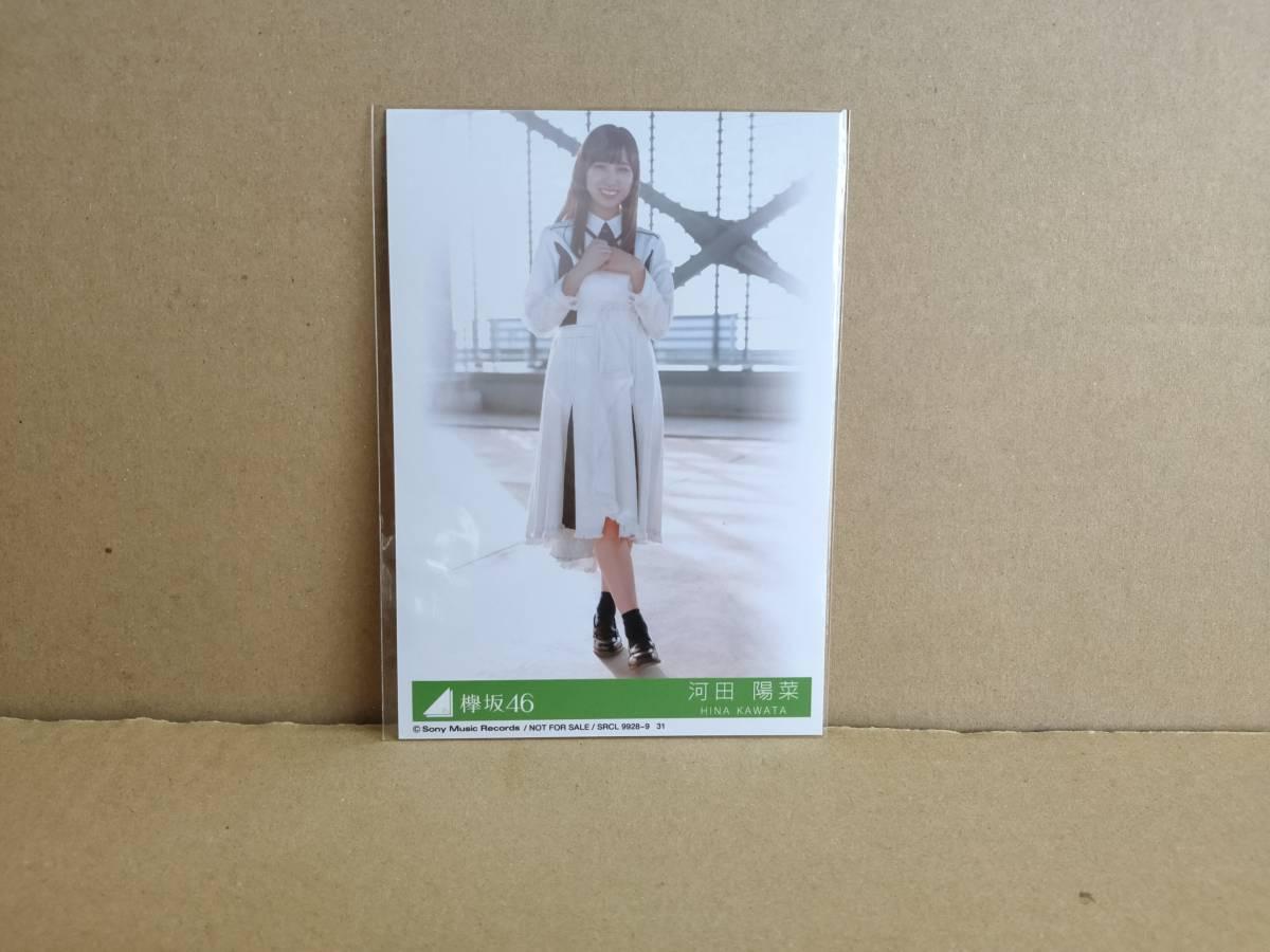 美品! 欅坂46 CDシングル「アンビバレント (CD+DVD -TYPE D-)」生写真(河田陽菜)付+特典ポストカード付_画像4