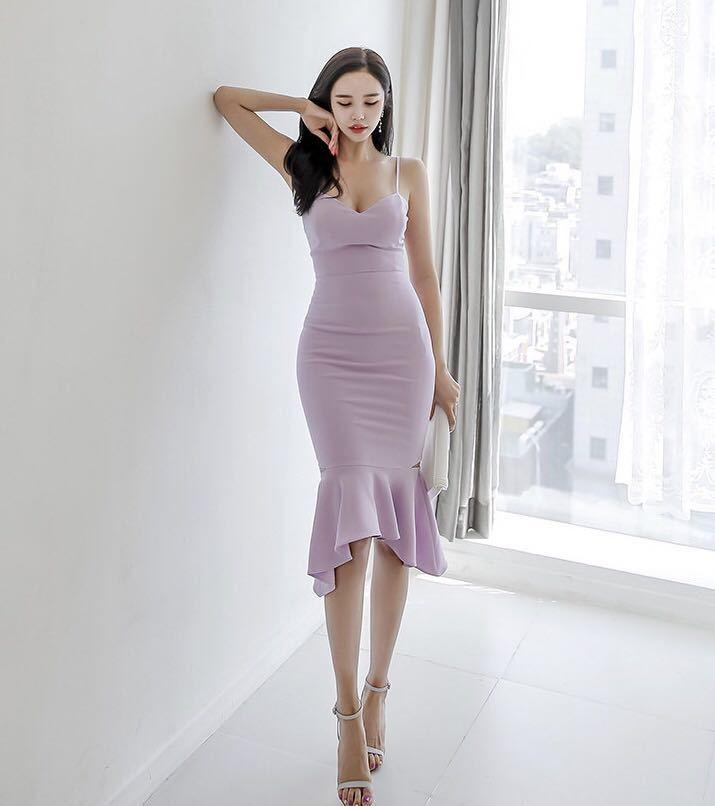 タイトワンピース パーティドレス ロングドレス キャミソールドレス キャバドレス 姫系 セクシー c1108