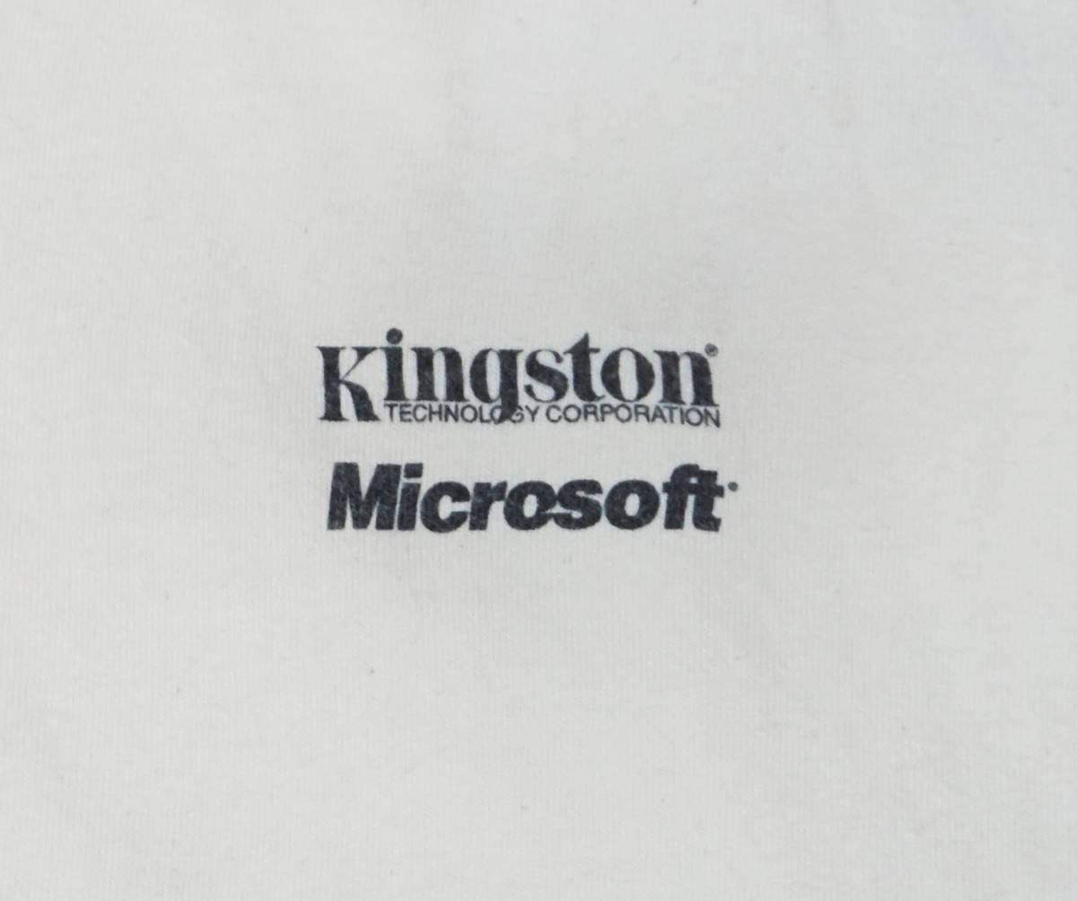 激レア! 90's USA製 MICROSOFT 『COMPUTING WITHOUT LIMITS』 Tシャツ BILL GATES IBM APPLE MAC MACINTOSH IPOD NINTENDO 任天堂 PAC-MAN_画像5