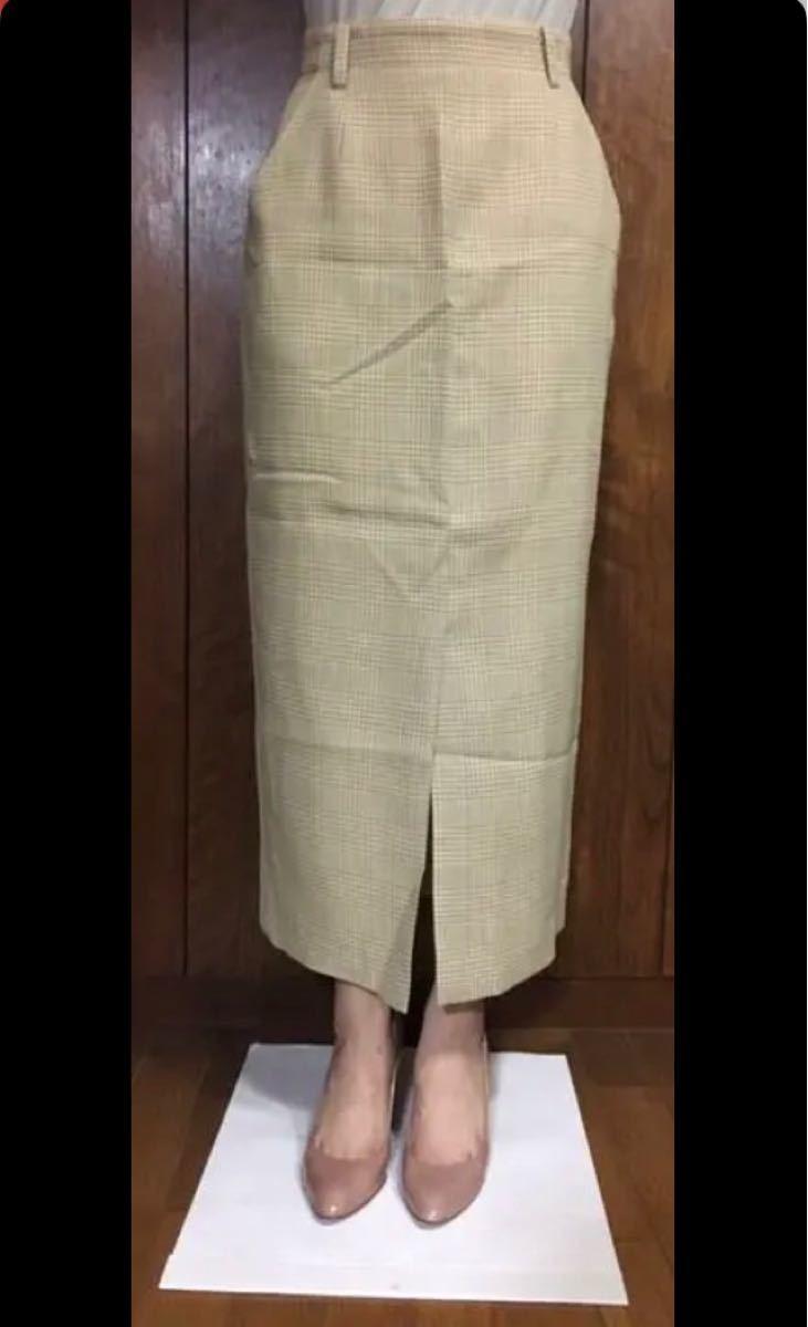 タイトスカート ロングスカート