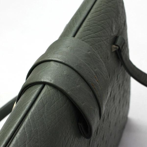 クロコダイル 型押し ハンドバッグ ハンドバッグ ヴィンテージ レトロ アンティーク フォーマルバッグ 200723bu08