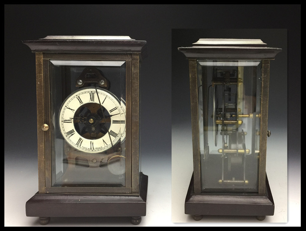 置時計 古時計 アンティーク 動作確認済み インテリア 置物