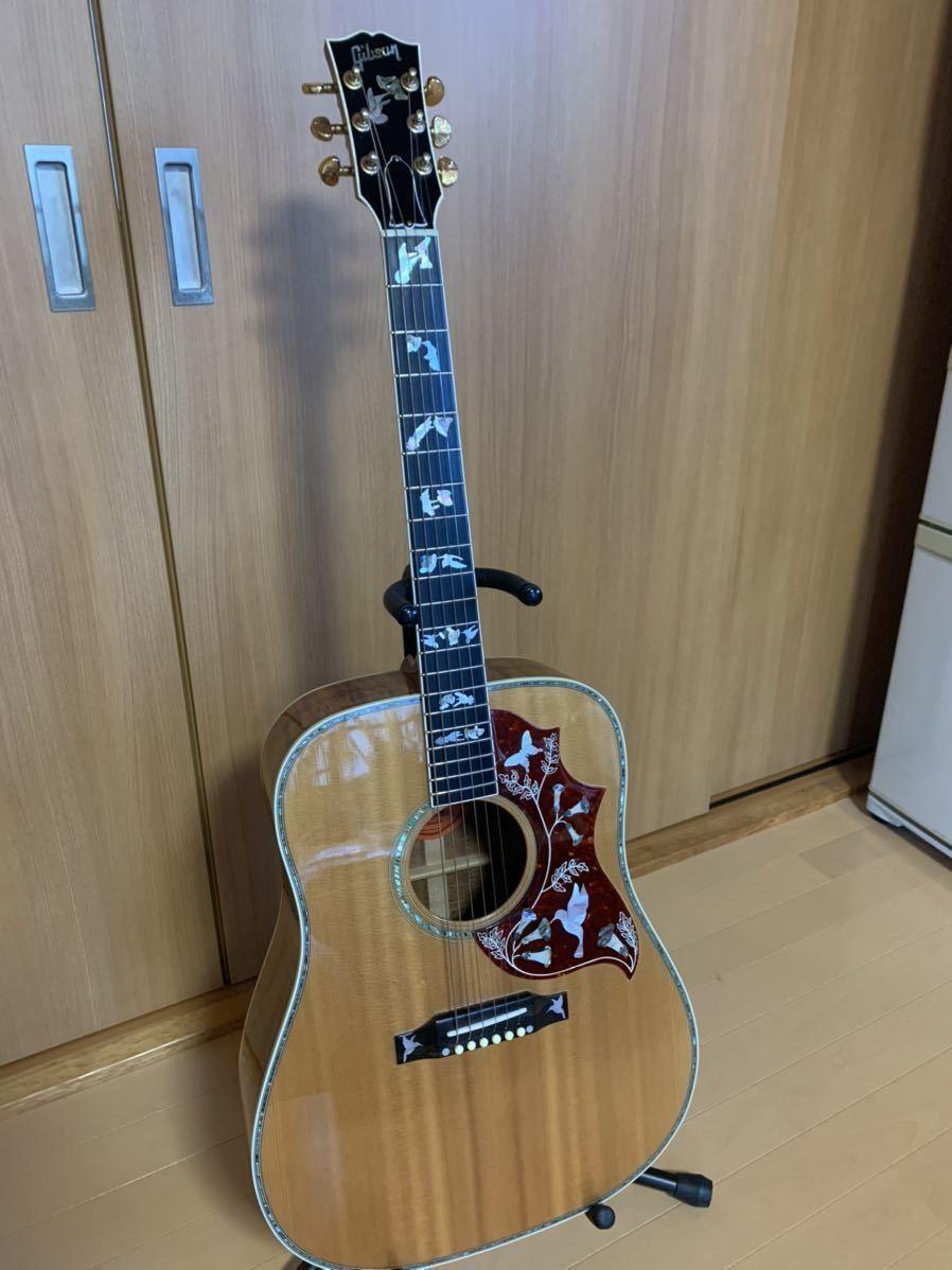 【美品】 Gibson Hummingbird Custom Koa