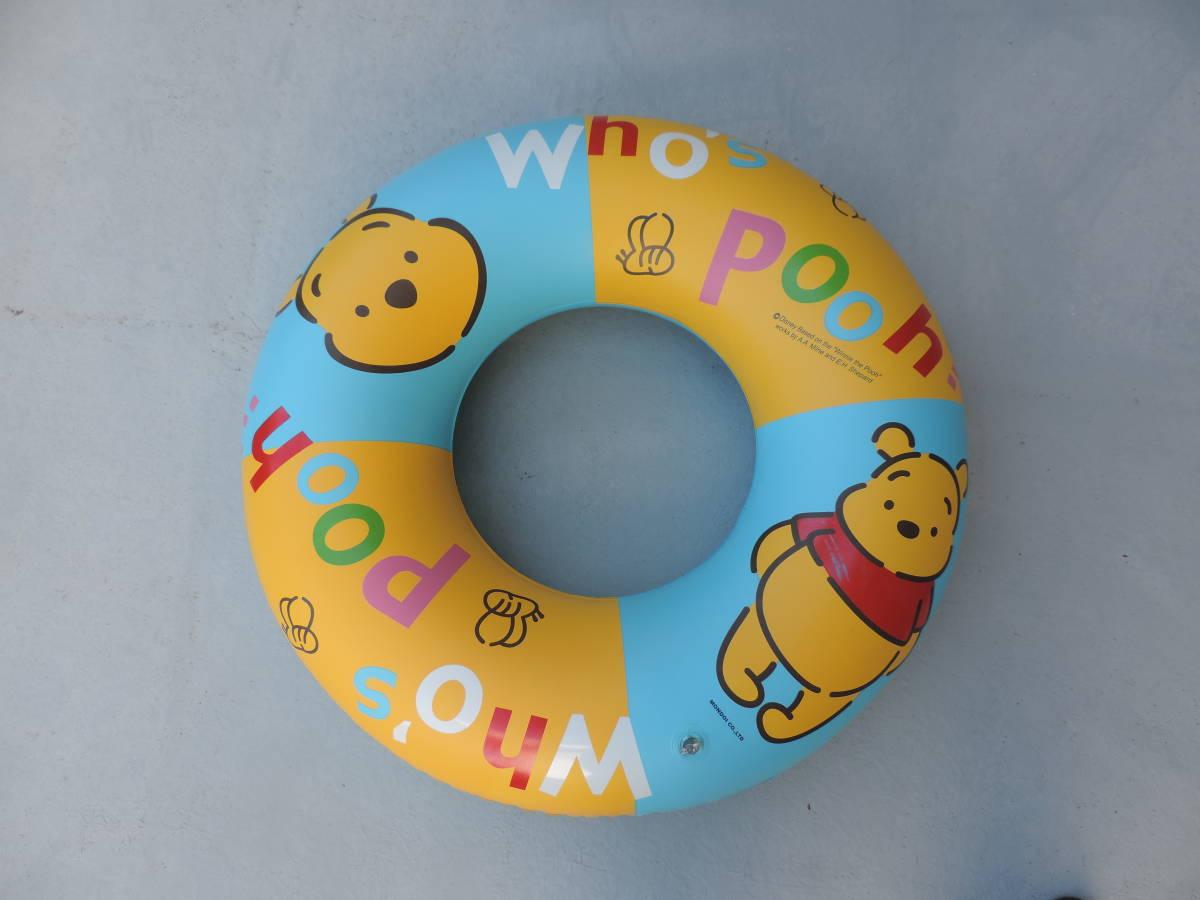 ☆くまのぷーさん 浮き輪・浮き具 約65cm 水遊び・海水浴・プール ☆3043_画像1