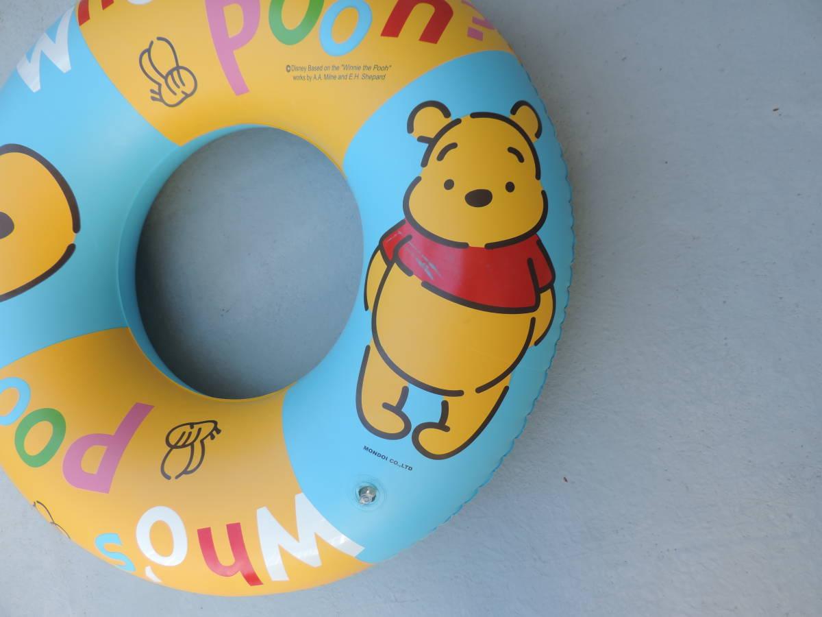 ☆くまのぷーさん 浮き輪・浮き具 約65cm 水遊び・海水浴・プール ☆3043_画像2