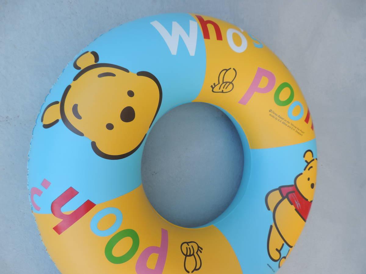 ☆くまのぷーさん 浮き輪・浮き具 約65cm 水遊び・海水浴・プール ☆3043_画像3