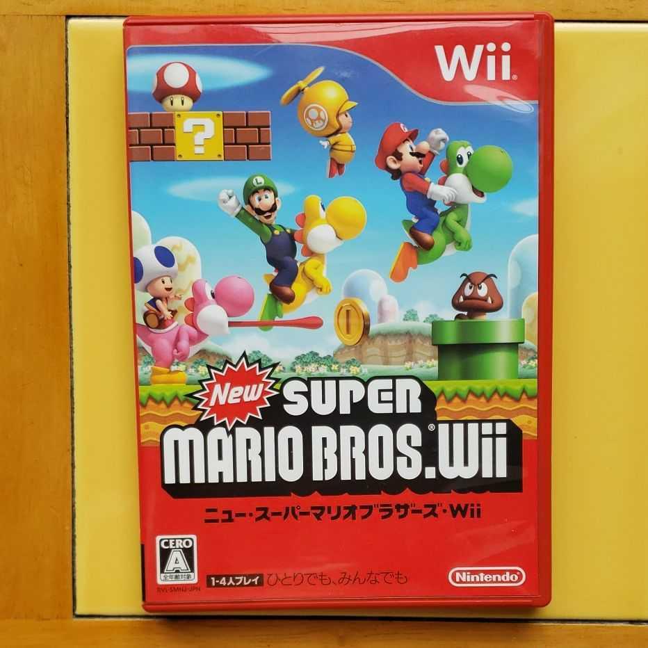 Wiiソフト NewスーパーマリオブラザーズWii