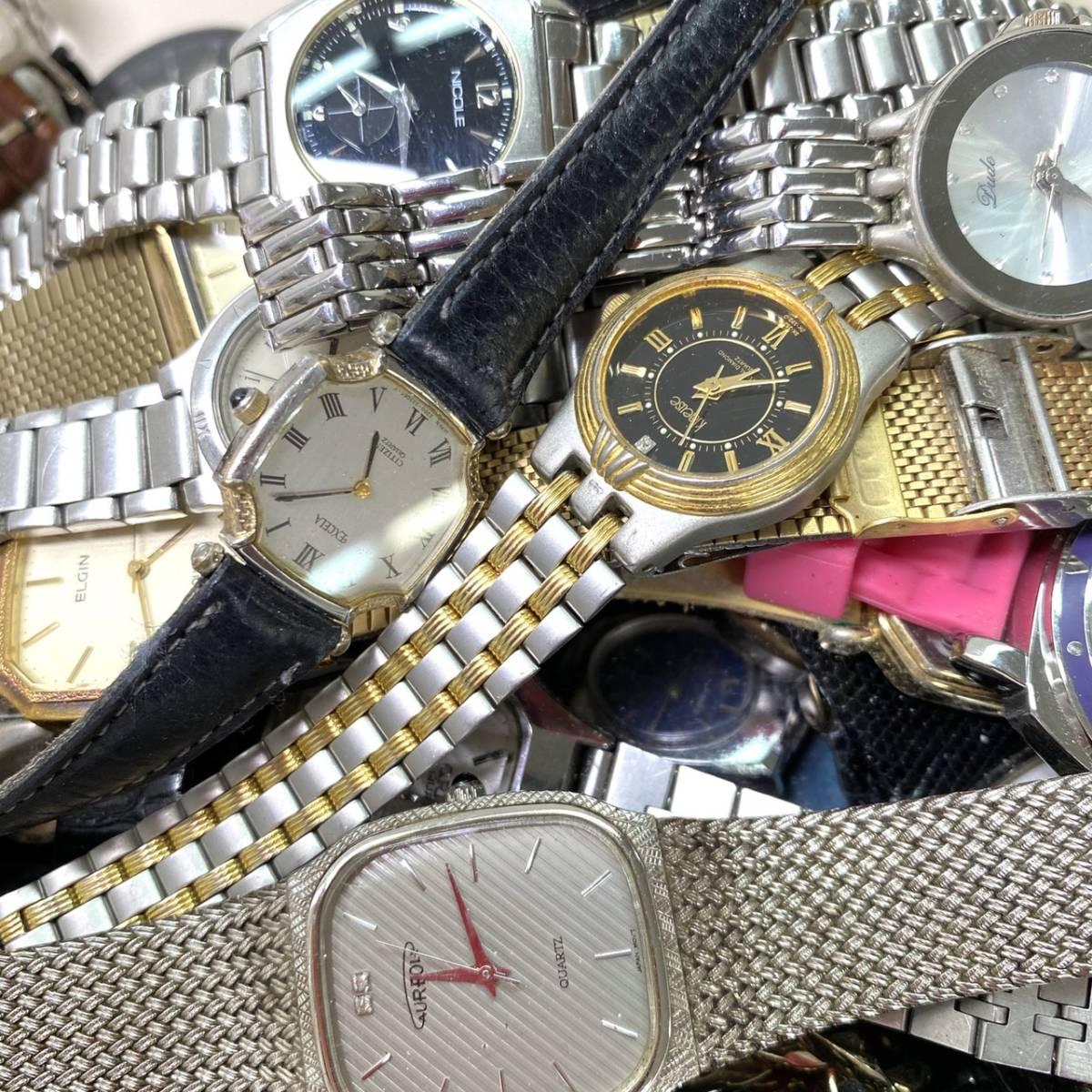 【腕時計まとめ】SEIKO CASIO CITIZEN 他多メーカー メンズ レディース 約118本 セット ジャンク品有り 大量 1円スタート_画像6