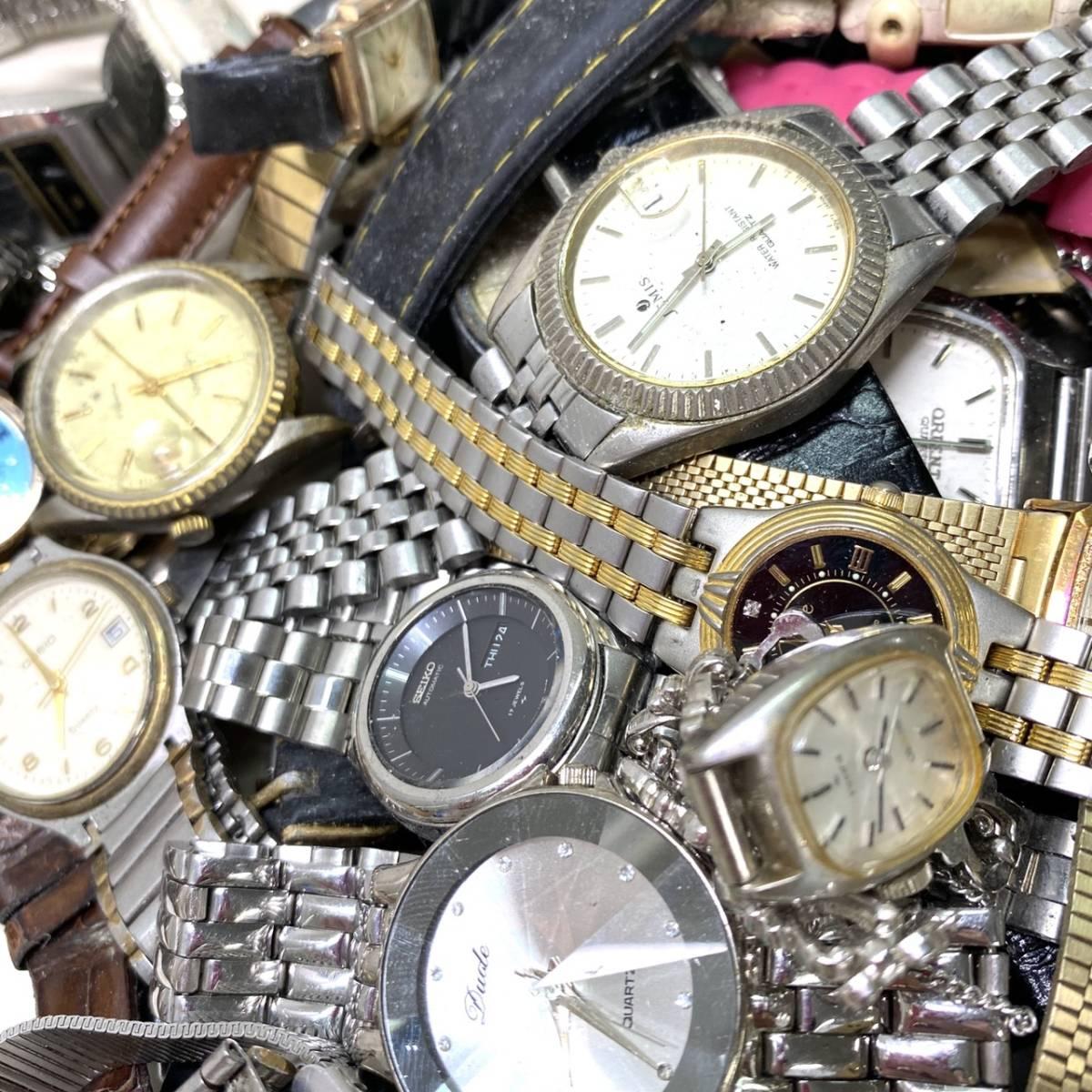 【腕時計まとめ】SEIKO CASIO CITIZEN 他多メーカー メンズ レディース 約118本 セット ジャンク品有り 大量 1円スタート_画像2