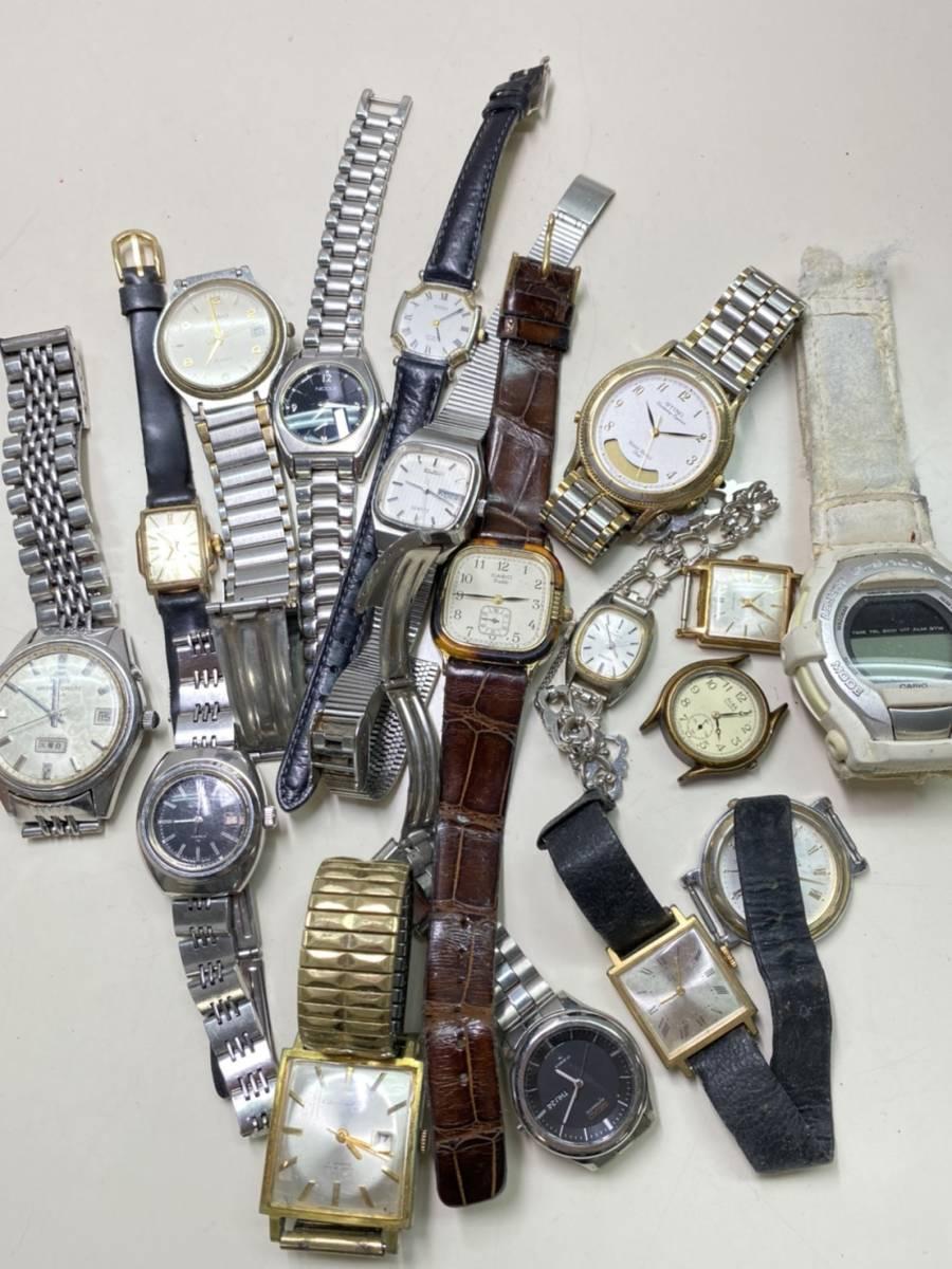 【腕時計まとめ】SEIKO CASIO CITIZEN 他多メーカー メンズ レディース 約118本 セット ジャンク品有り 大量 1円スタート_画像7