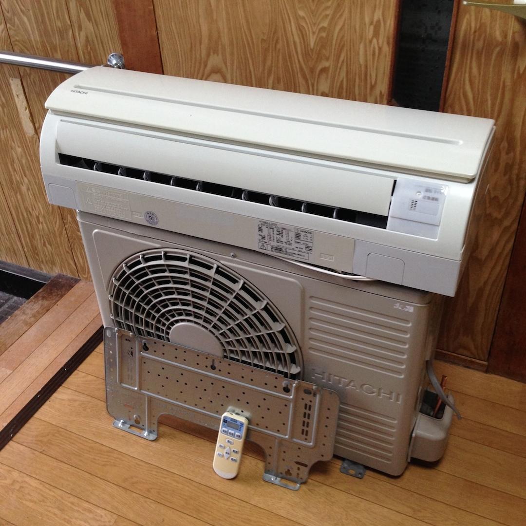 売切り 2009年製【HITACHI】冷暖房 ルームエアコン RAS-LJ22Y 2.2kW