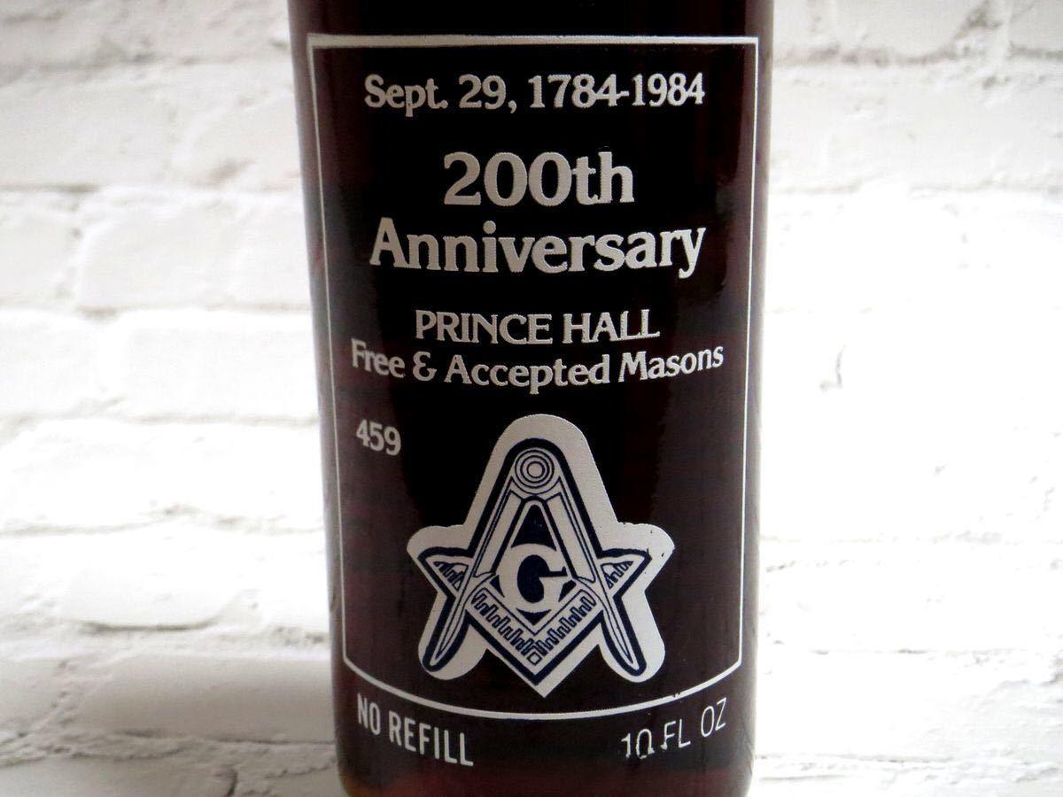 【ヴィンテージ】1984年 コカ・コーラ フリーメイソンラベル記念ボトル
