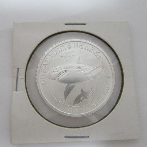 2014年 50セント 銀貨 オーストラリア 1/2oz 999 エリザベス2世 未使用