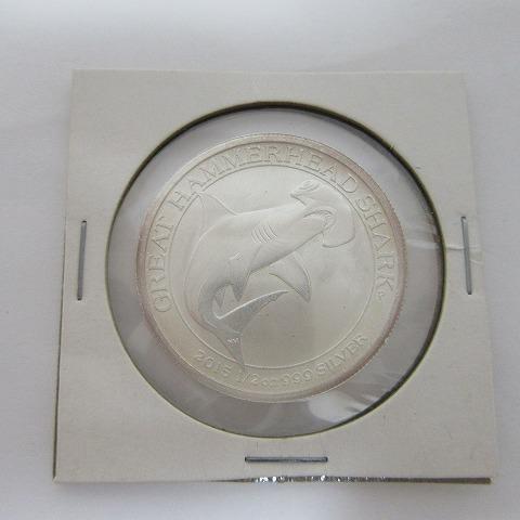 2015年 50セント 銀貨 オーストラリア 1/2oz 999 エリザベス2世 未使用