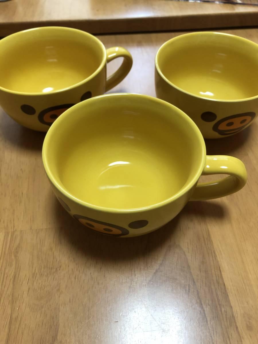 キイロイトリ☆スープ マグカップ3個セット