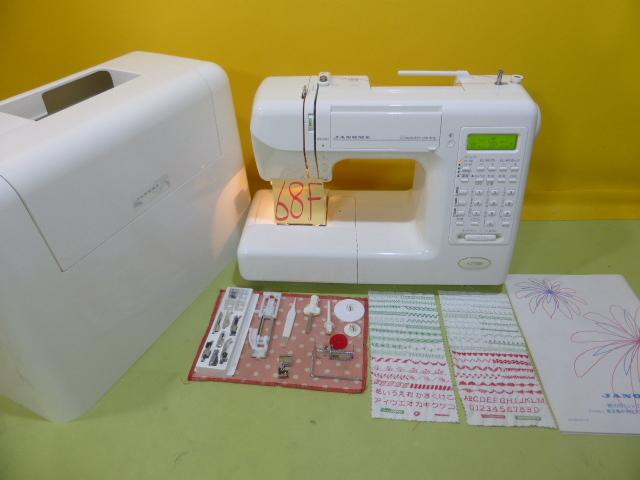 ★超美品★ジャノメ高級コンピューターミシン S7700 型式840★68-F_画像1
