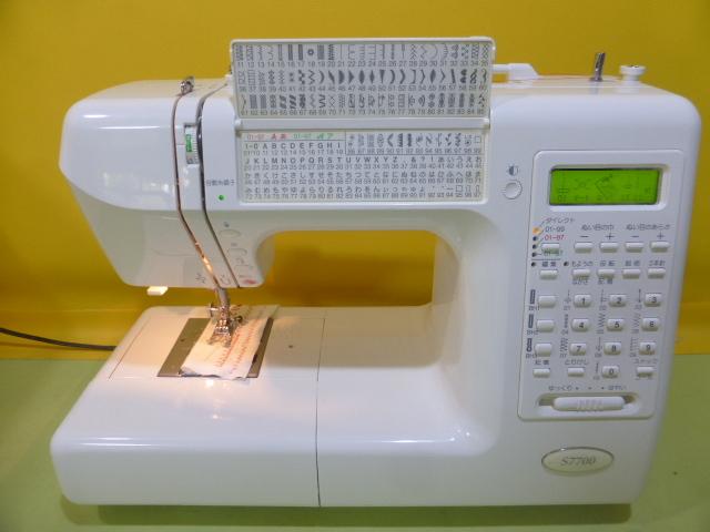 ★超美品★ジャノメ高級コンピューターミシン S7700 型式840★68-F_画像4