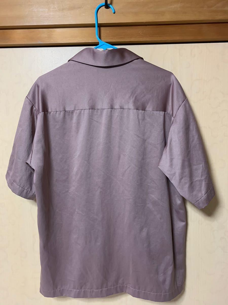 半袖シャツ オープンカラーシャツ