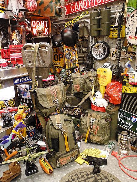 【83528】パラシュート部隊が使うバッグがモチーフ★フライングボディバッグ マセットバッグ(アーミーグリーン)/アメリカ雑貨/ミリタリー/_画像3