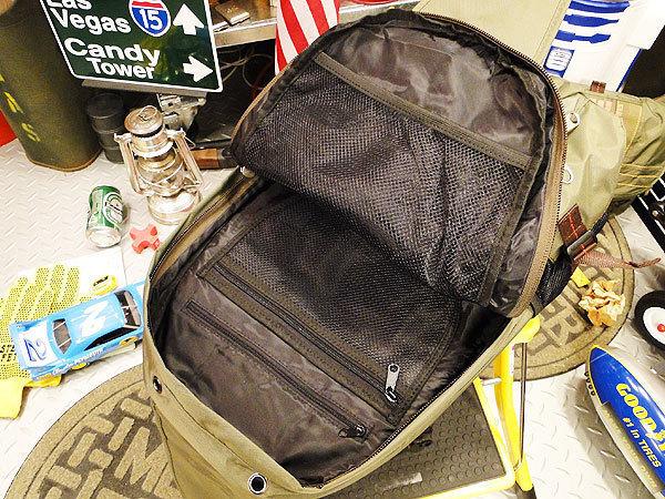 【83562】パラシュート部隊が使うバッグがモチーフ★フライングボディバッグ リュック/バックパック(アーミーグリーン)/ミリタリー/アメカ_画像3