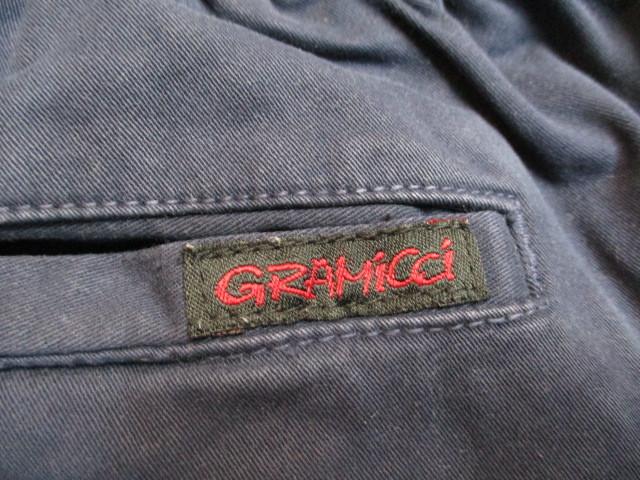 Gramicci グラミチ クライミングパンツ 紺 M_画像8