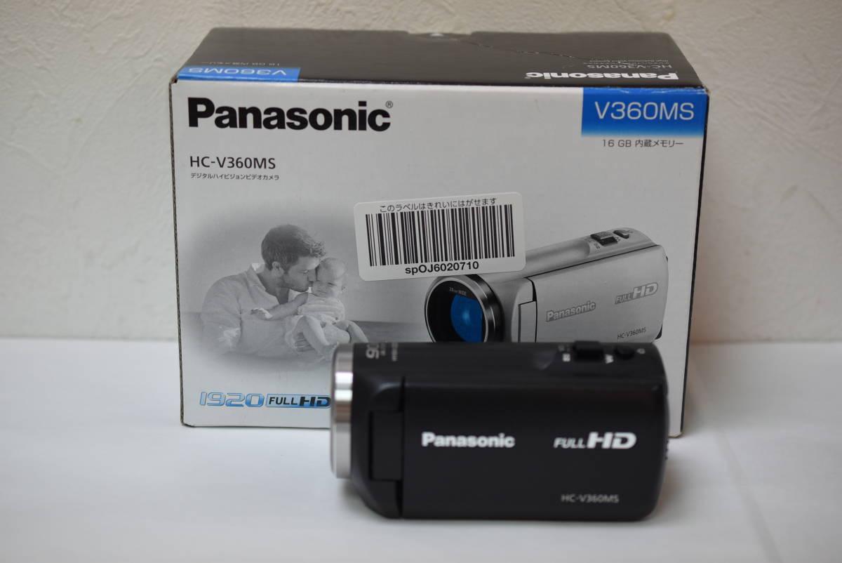 ☆美品 Panasonic デジタルハイビジョンビデオカメラ HC-V360MS☆