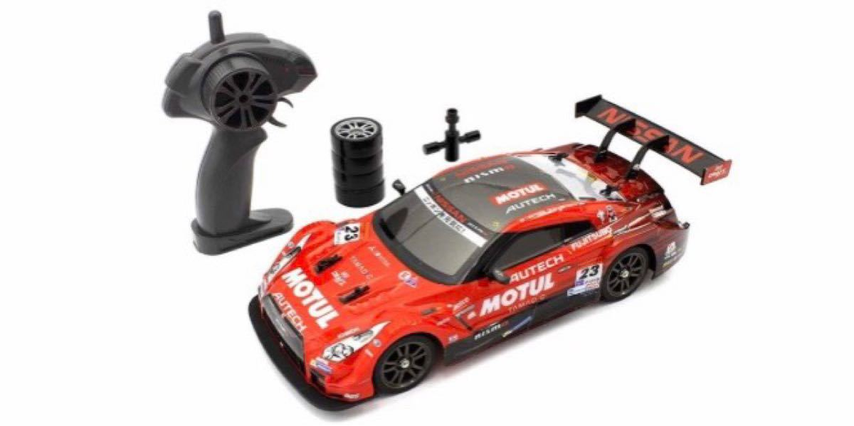 【新品】ラジコン R/C 1/16 ドリフトレーシング GT-R 4WD 赤