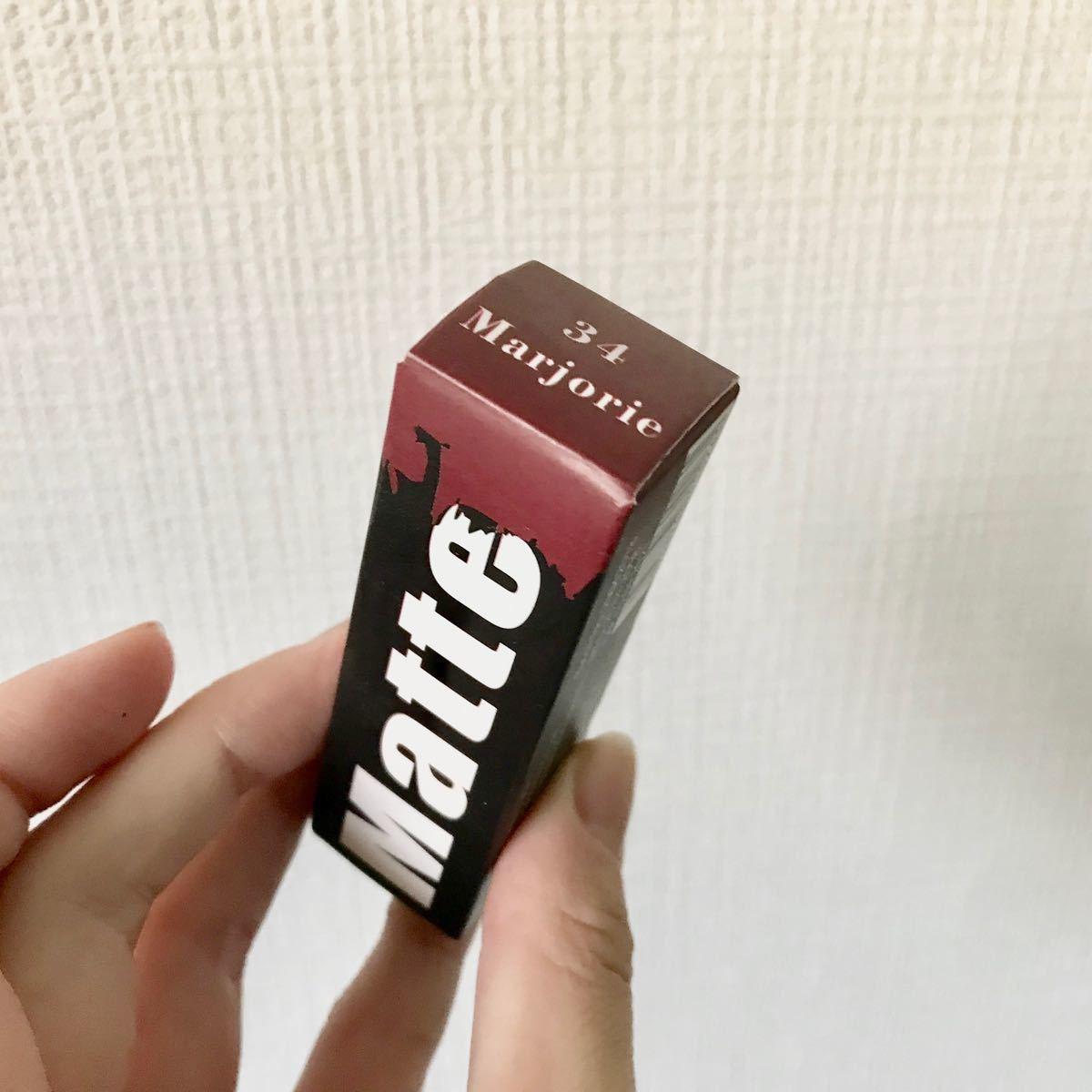リップスティック 赤 miss rose 34