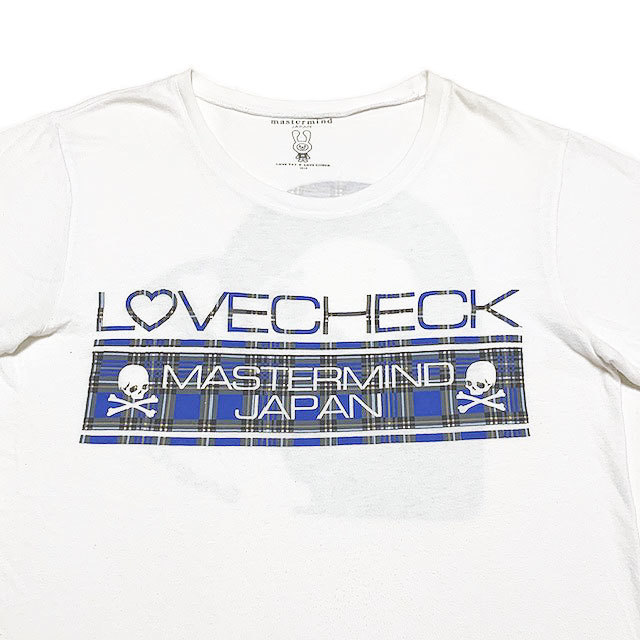 国内正規品■master mind JAPAN(マスターマインド)×LOVEフォト×LOVE CHECK ZOZOTOWN限定 半袖Tシャツ 白ホワイトM_画像4