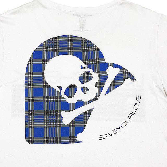 国内正規品■master mind JAPAN(マスターマインド)×LOVEフォト×LOVE CHECK ZOZOTOWN限定 半袖Tシャツ 白ホワイトM_画像5