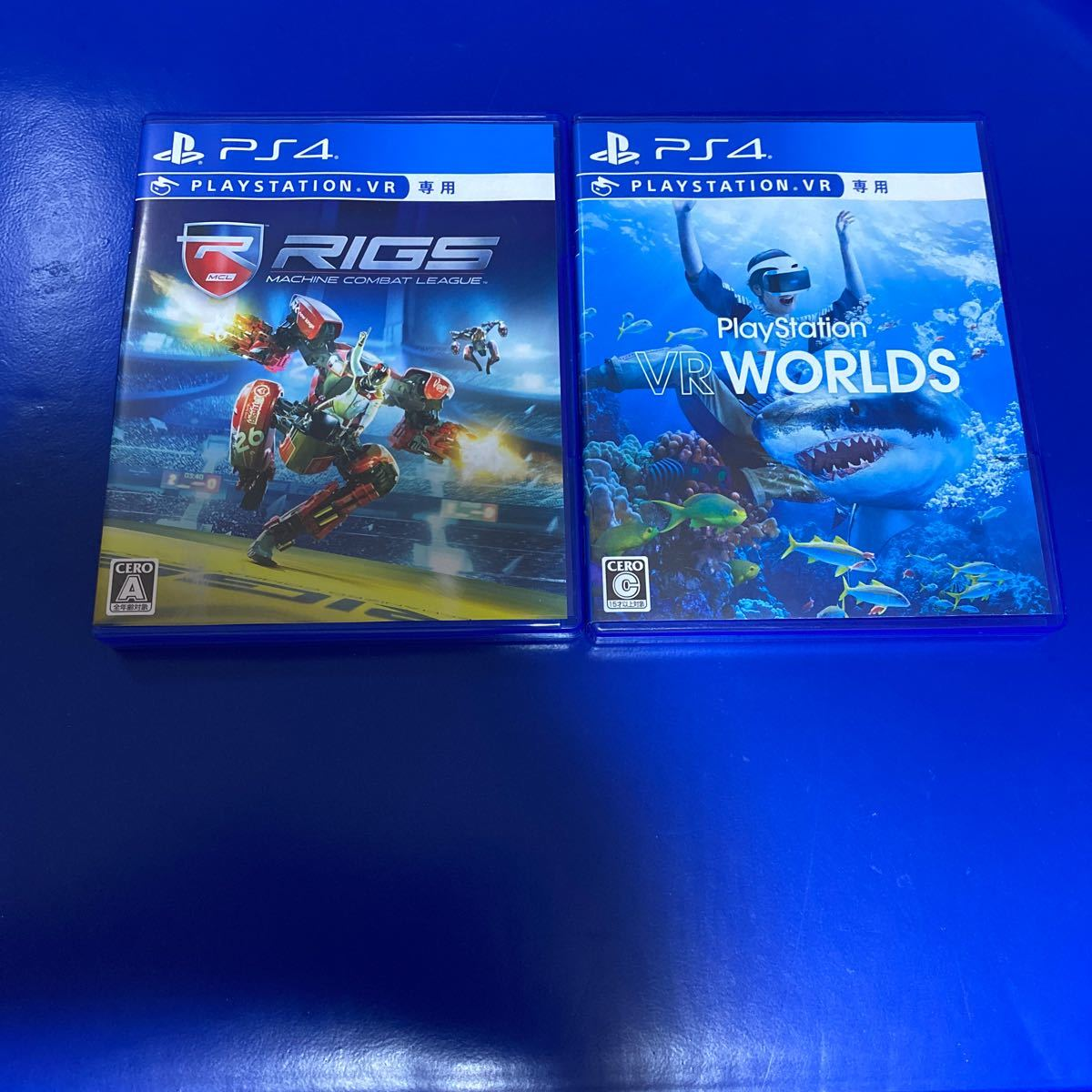 【PS4】 RIGS & PlayStation VR WORLDS