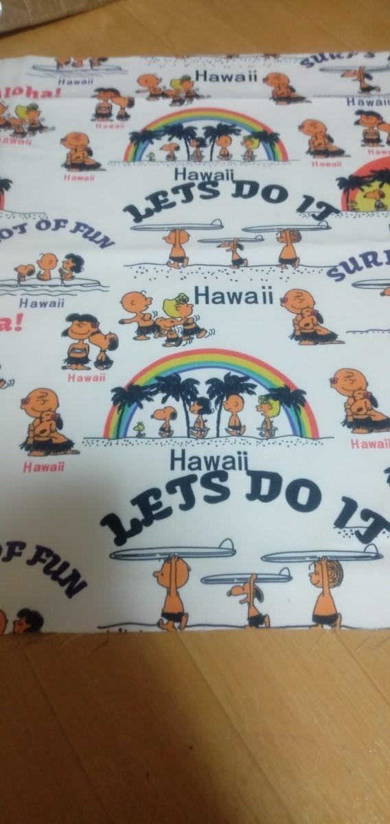 巾140cm×50cm スヌーピー ハワイ 生地