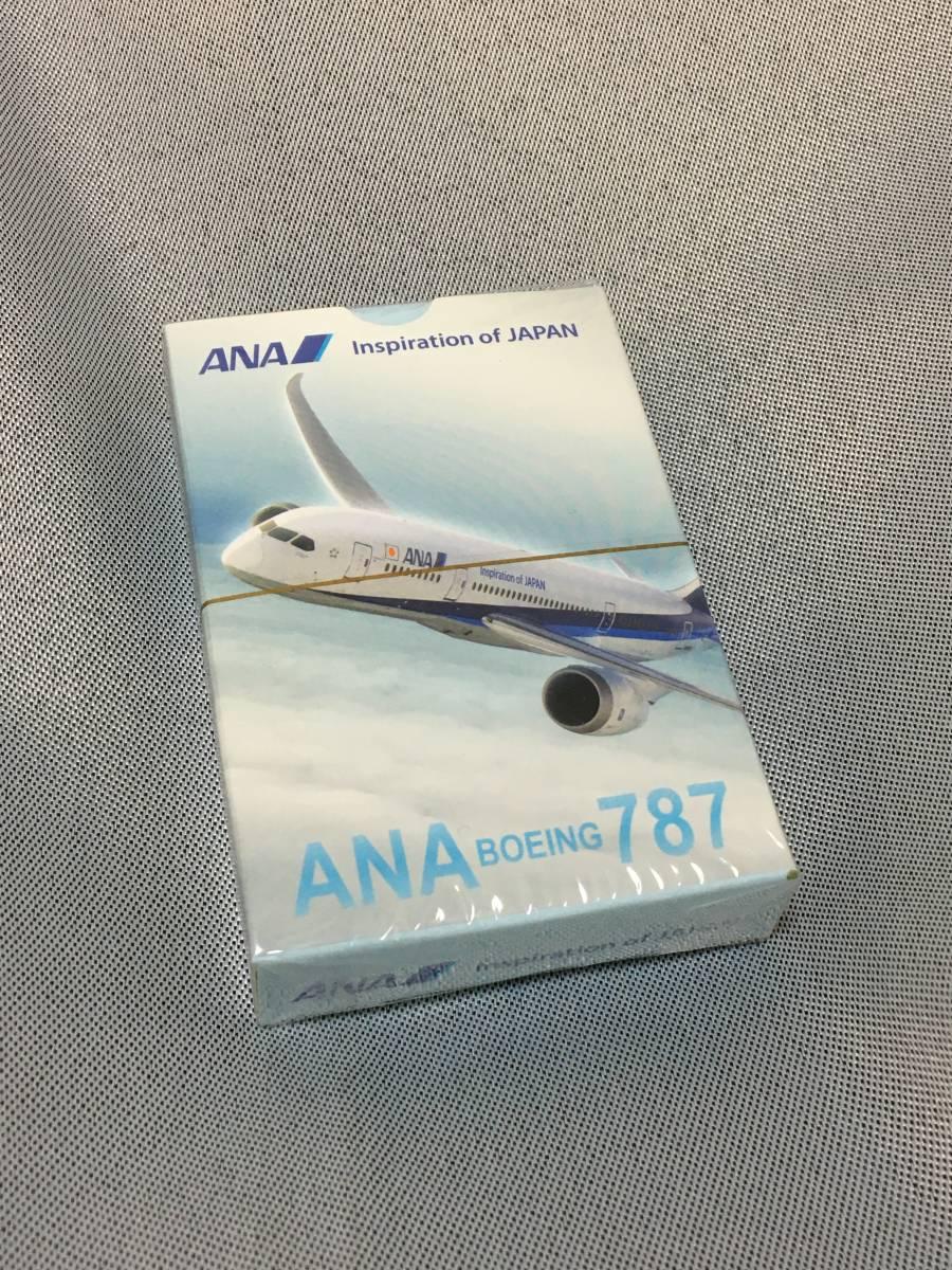 ANA トランプB787 Inspiration of JAPAN【新品・非売品】(エアラインの限定品)♪ -11a_画像1