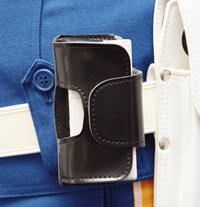携帯ケース 警察機関斡旋品 携帯電話ケース 回転式_画像2