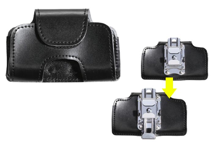 携帯ケース 警察機関斡旋品 携帯電話ケース 回転式_画像1