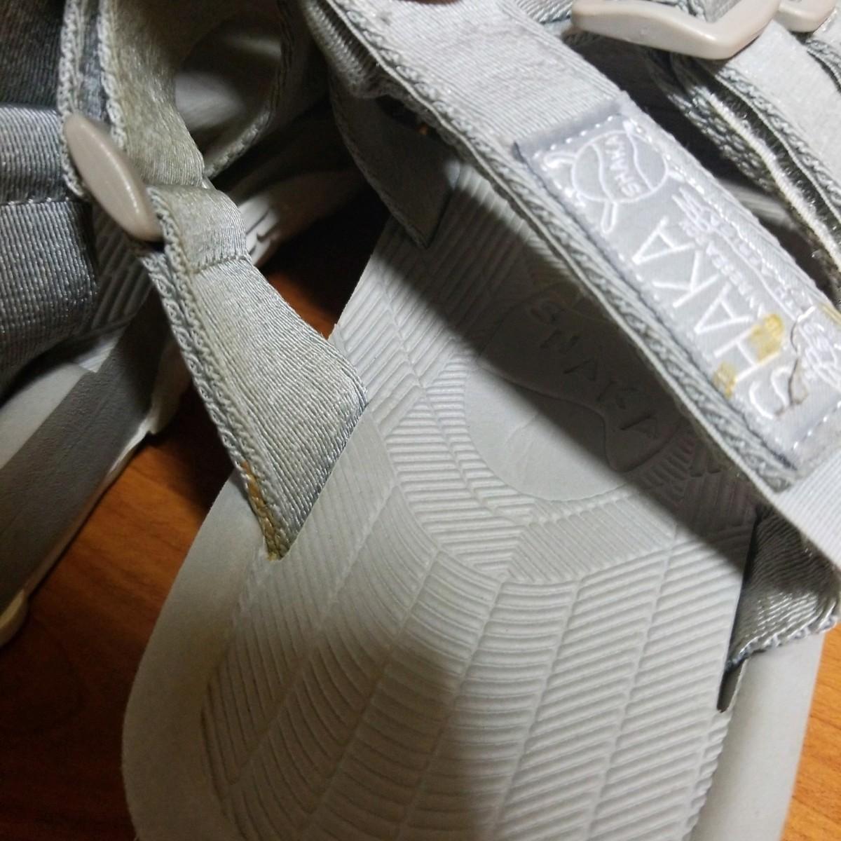 メンズ SHAKA RALLY SLIDE 灰色 26センチ