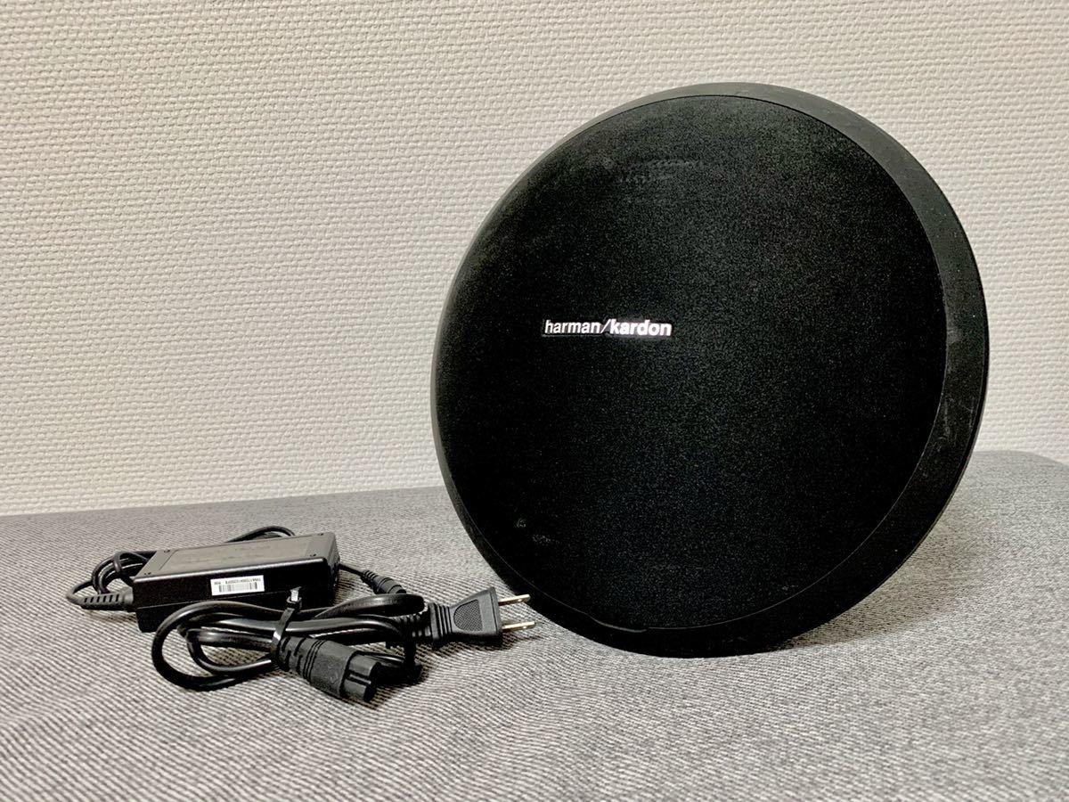 美品 harman kardon ハーマンカードン ONYX STUDIO ワイヤレス Bluetooth ポータブルスピーカー_画像1