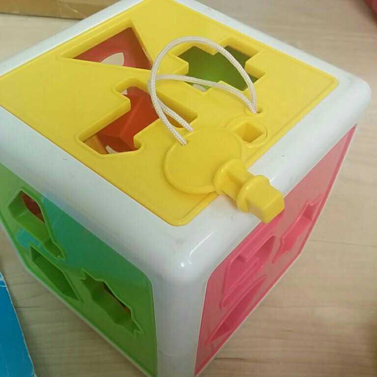 知育玩具 積み木 木のおもちゃ つみき しまじろう つり パズル かたち すうじ 立体パズル おもちゃ_画像4