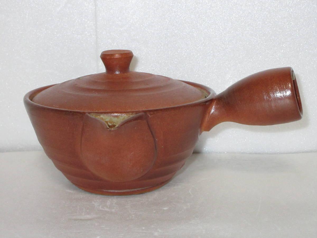 ●煎茶道具● 身在銘『香紫(紫香)』造 横手 急須 茶器 _画像2