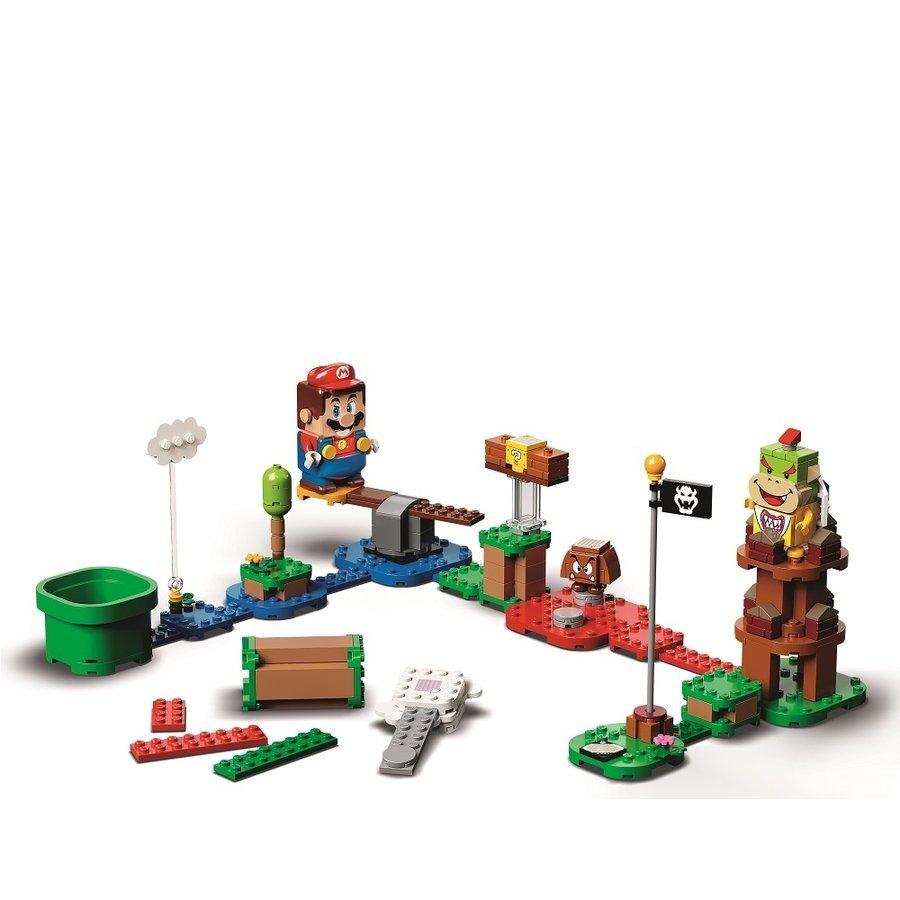 即有 新品未開封 レゴ スーパーマリオ 71360 レゴ(R)マリオ と ぼうけんのはじまり ~ スターターセット LEGO マリオ 同梱可 送料950円~_商品見本