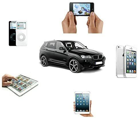 DYYUカーAUXアダプター3.5 mmジャックとUSB Y Cbleオーディオインターフェース充電器コードi-Phone X 8 7 7 Plus for BMW(39インチ/ 100 c_画像7