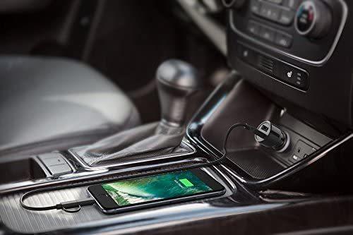 DYYUカーAUXアダプター3.5 mmジャックとUSB Y Cbleオーディオインターフェース充電器コードi-Phone X 8 7 7 Plus for BMW(39インチ/ 100 c_画像6