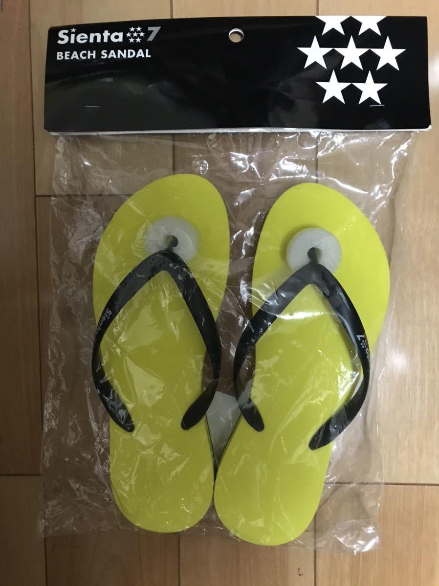 トヨタ シエンタ 7 / Sienta 7 ビーチ サンダル/ Beach Sandal 非売品・新品・未開封品