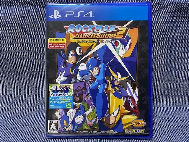 PS4☆ロックマン クラシックス コレクション 2☆極美品・初回版・新品・未開封品・即決有