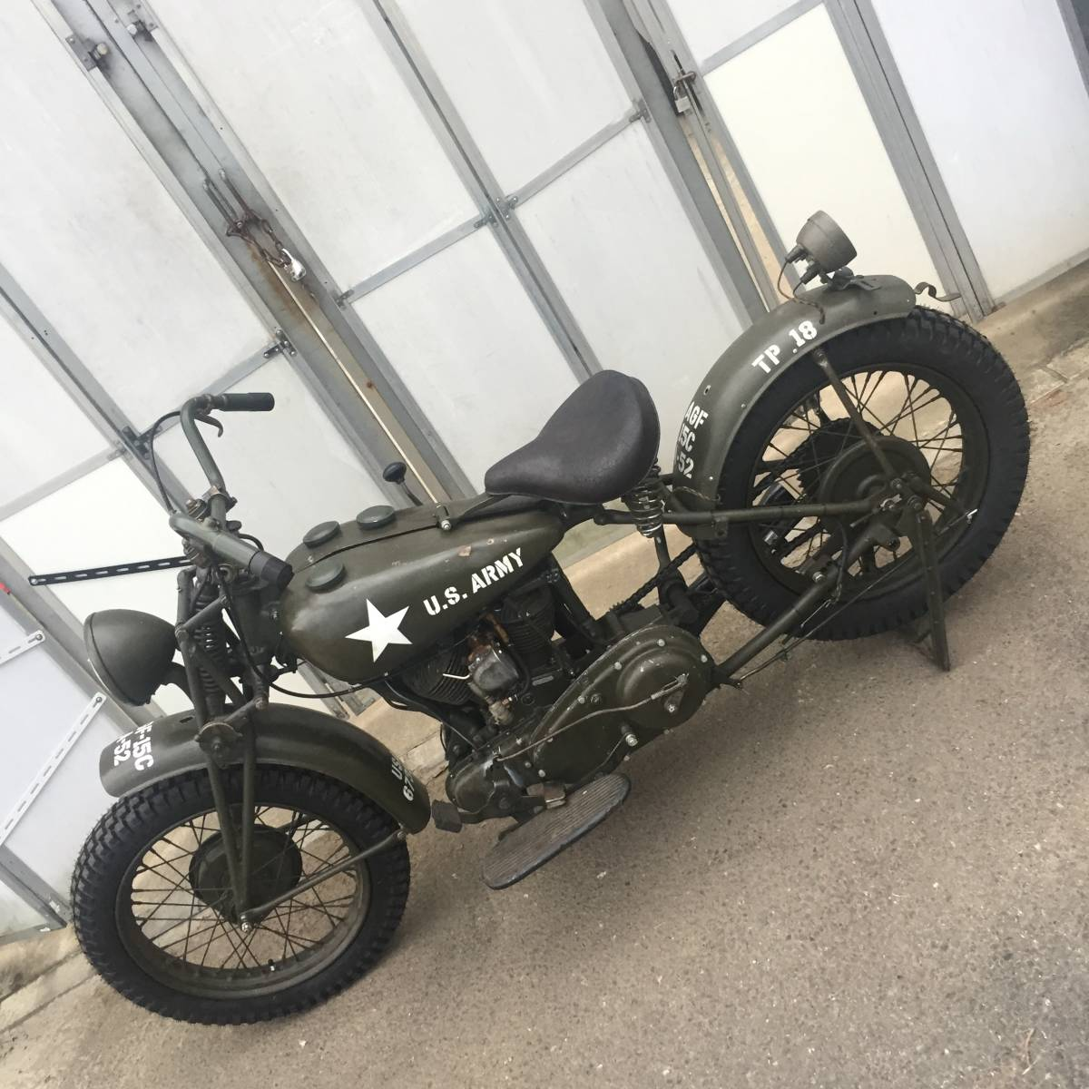「1941Indian Military Scout Bobber」の画像3