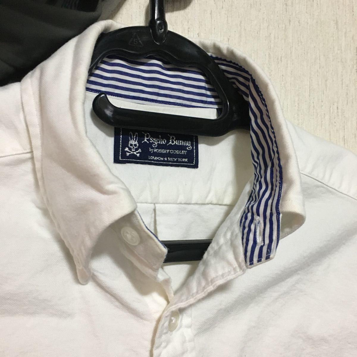 半袖 シャツ サイコバニー メンズ ゴルフウェア トップス ワイシャツ スカル